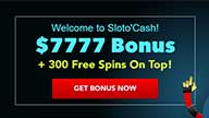 up to $7,777 in Free Welcome Bonuses + add 300 Free Spins on Top!